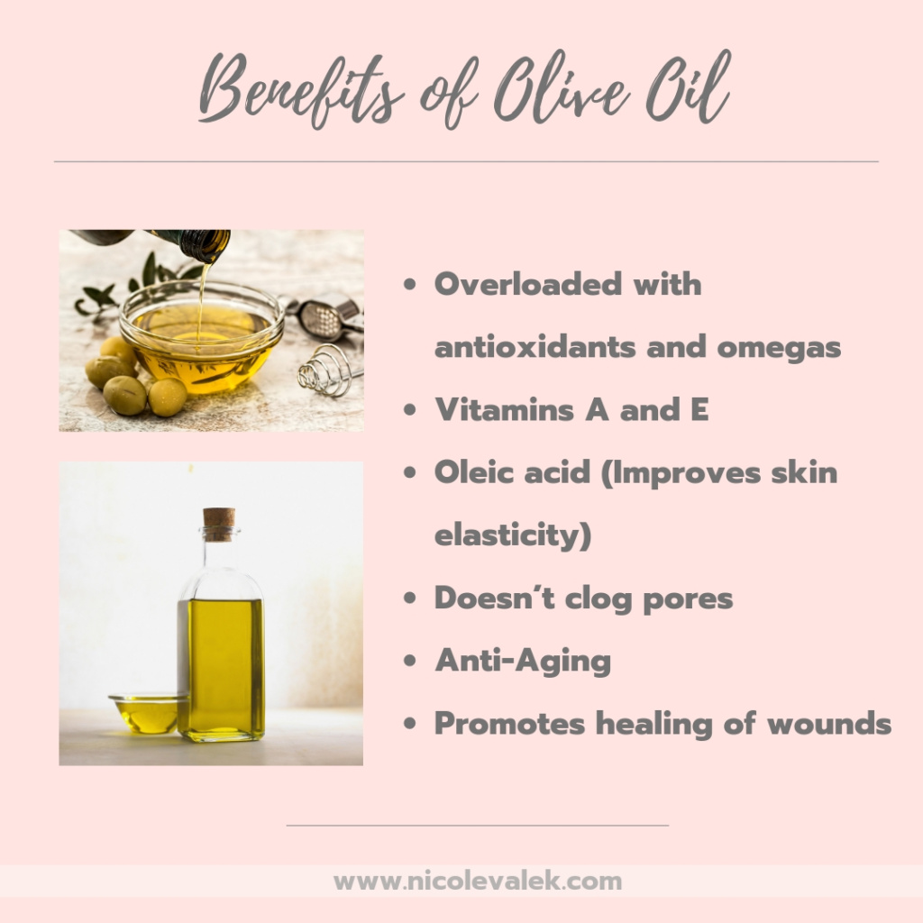 beauty benefits of olive oil - nicolevalek